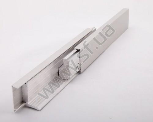 Клемный профиль h=40 мм, полированный