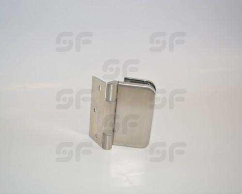 4071-4 Петля с пластиной, SS