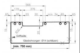 4-511ЕD1 611 Система Pico на 75 кг с доводчиком в одну сторону