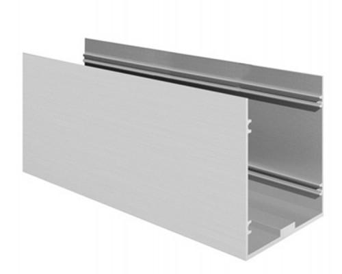 50-6557 Профиль для установки в пол алюминиевый